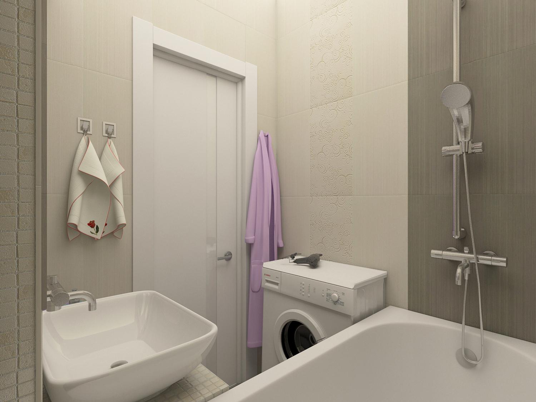 Дизайн ванной комнаты (Варламова Анастасия)