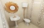 Дизайн ванной комнаты (Евгения Гранде)